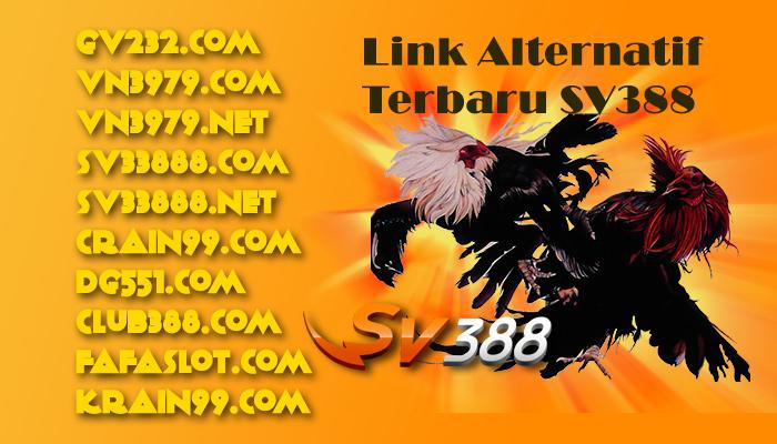 Link Alternatif Login Situs SV388 Terbaru dan Terupdate
